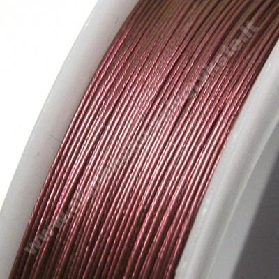 Troselis rausvas 0.38 mm storio