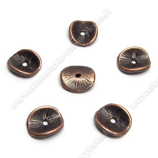 Sendinto vario spalvos intarpas riesto diskelio formos 9 mm