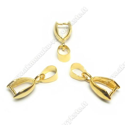 Pakabutis-laikiklis aukso spalvos 22 mm
