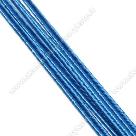 Rugiagėlių spalvos sutažo juostelė 3 mm
