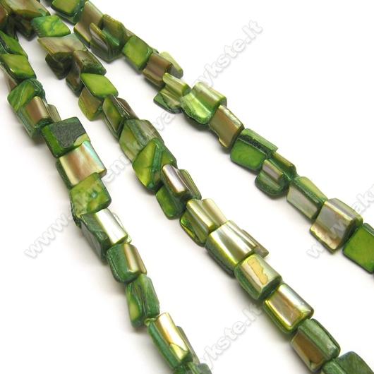 Kriauklės gabaliukų juosta žalios spalvos 40 cm