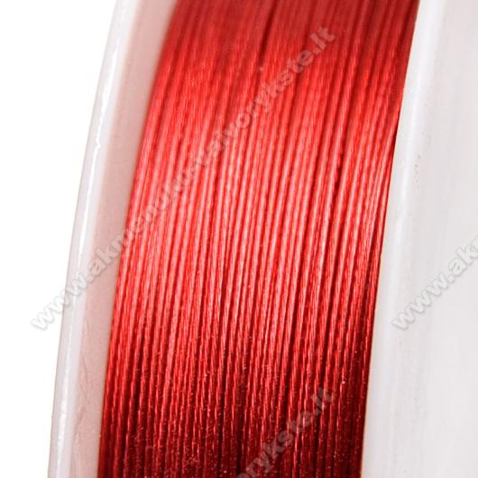 Troselis sodrios raudonos spalvos 0.38 mm