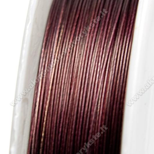 Troselis tamsios šokolado spalvos 0.38 mm