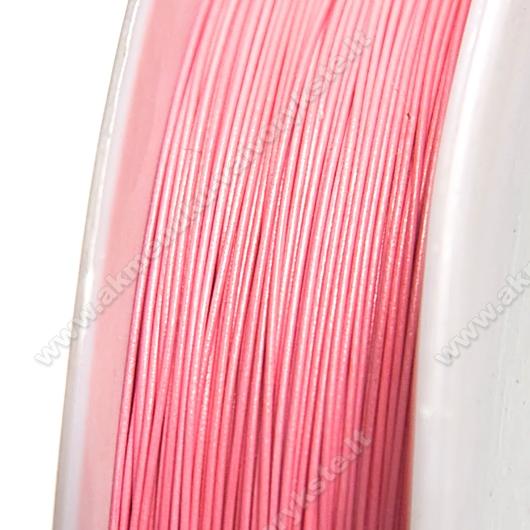 Troselis sodrios rožinės spalvos 0.38 mm