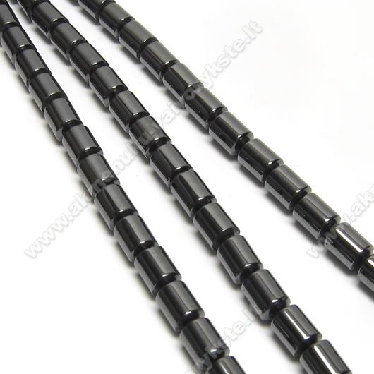 Hematitas cilindro formos akmenukų juosta 40 cm.