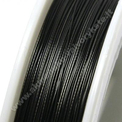 Troselis juodas 0.38 mm storio