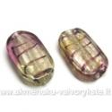 Lampworks stiklas žalsvai alyvinis 26 mm