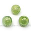 Pūstas stiklas žalias 12 mm
