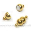 Magnetinis užsegimas sendinto aukso spalvos 7 mm