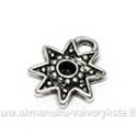 Tibeto sidabro pakabutis žvaigždės formos 14 mm