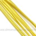 Geltona sutažo juostelė 3 mm