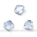 Čekiškas stiklas melsvas dvipusio konuso formos 5 mm