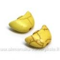 "Geltonas hovlito ""laivelis"" 15x10 mm"