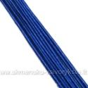 Mėlynos spalvos sutažo juostelė 3 mm