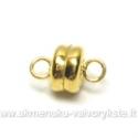 Smulkus magnetinis užsegimas aukso spalvos