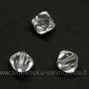 Čekiškas stiklas skaidrus dvipusio konuso formos 5 mm