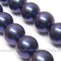 Kriauklės perlai violetiniai 14 mm