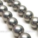 Kriauklės perlai sidabro spalvos 14 mm