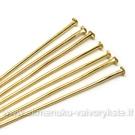 Sendinto aukso spalvos vinukai 4 cm