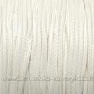 Medvilninis vaškuotas troselis balintos dramblio kaulo spalvos 1 m.