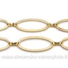 Aukso spalvos grandinėlė 11 mm pločio (0,5m)