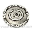 """Tibeto sidabro intarpas  - sujungimas """"Diskas-diske"""""""