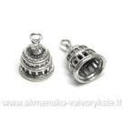 """Tibeto sidabro pakabutis-kepurėlė """"Kupolas"""""""