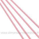 Rožinės spalvos guma 1 mm storio