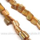 Kriauklės gabaliukų juosta rusvos spalvos 40 cm