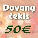 Dovanų čekis 50€ vertės
