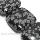 Snaiginis obsidianas kvadratuko formos