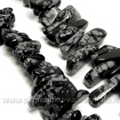 Natūralus snaiginis obsiadianas įvairiaformiai akmenukai